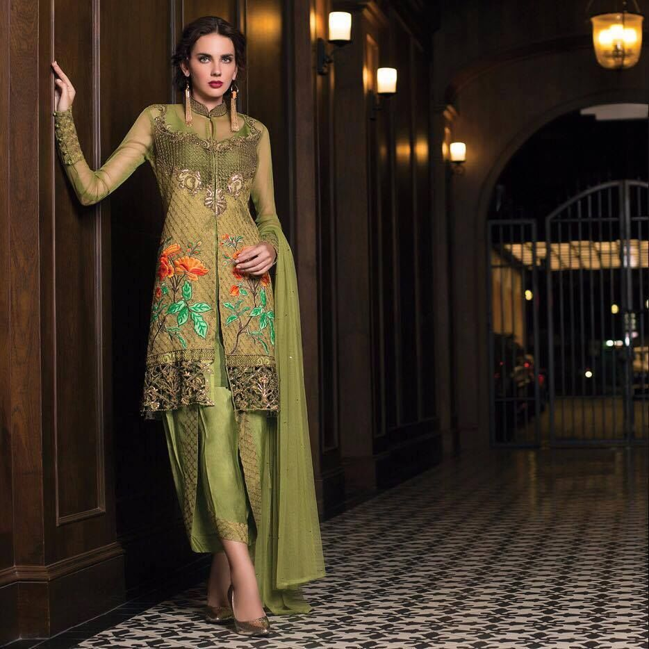 Tabassum Mughal Eid Festive Dresses By Al Zohaib 2017