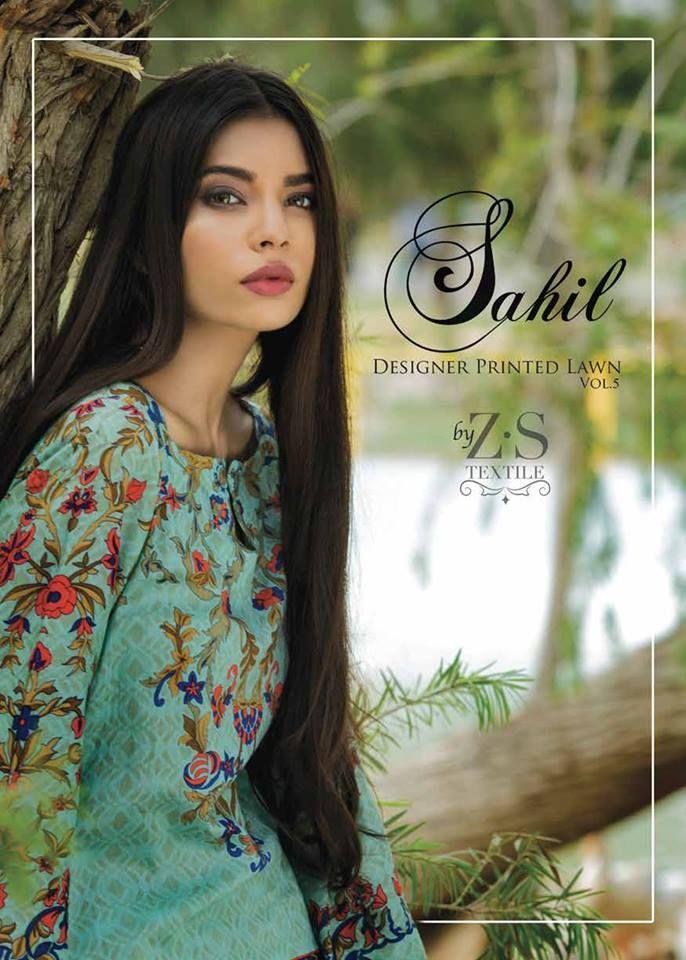 Sahil Casual Lawn Summer End ZS Textiles 2017