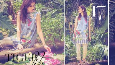 Cross Stitch Cambric Dresses Eid Collection 2017