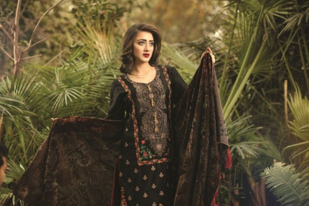 Sanam Saeed Winter Plachi Collection 2017