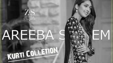 Areeba Saleem Kurtis ZS Textiles Fall Collection 2017-18