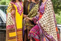 Lala Winter Linen Dresses Premium Collection 2017-18