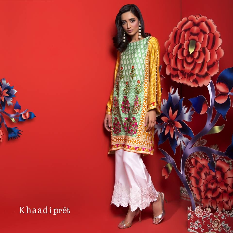 1137c571ccd Khaadi Ready To Wear Satin Winter Collection 2018