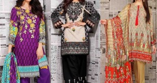 Warda Winter Collection Linen Dresses 2018