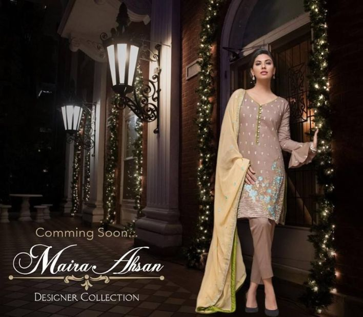 Maira Ahsan Formal Shalwar Kameez Collection 2018