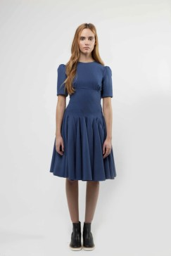 Wool Dress with Multi Twist Panel Detailing £899