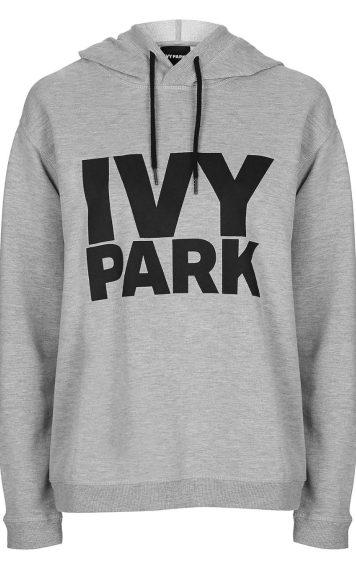 Logo peached hoodie, £32