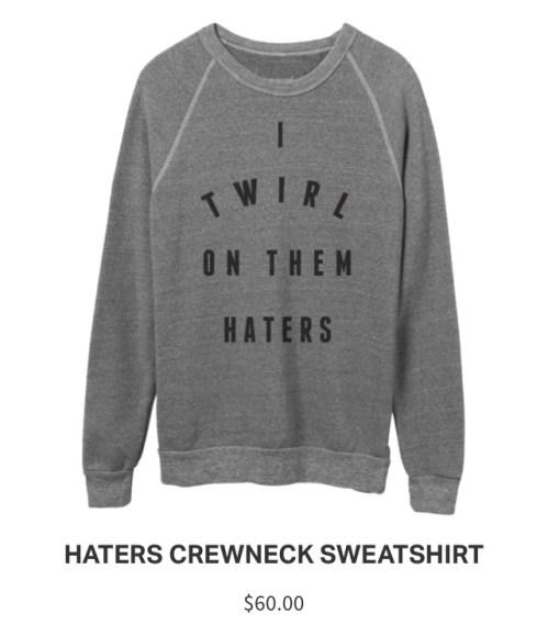 Lemonade Anniversary Merch Haters Sweater