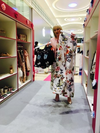 INTU Eldon Square Walk in Wardrobe Stylissimo floral