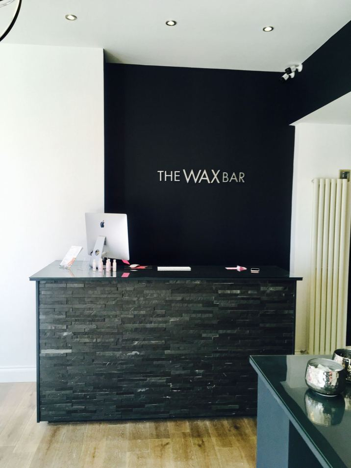 The Wax Bar Reception Area