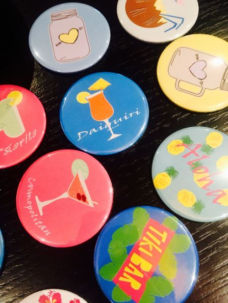 MIA SS17 Pin Badges