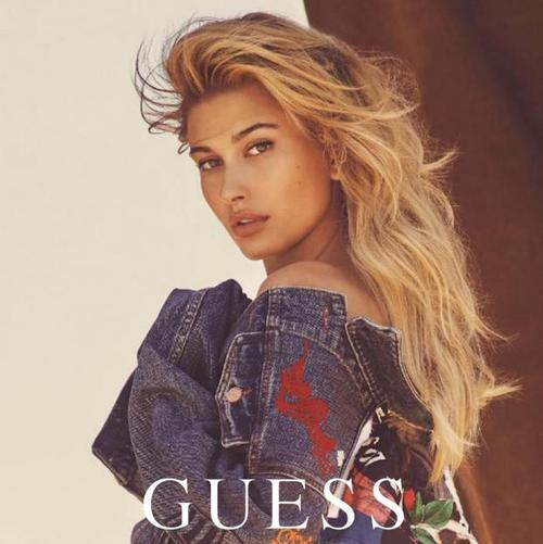 Hailey Baldwin Guess