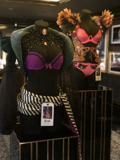 VS Fashion Show touring outfits