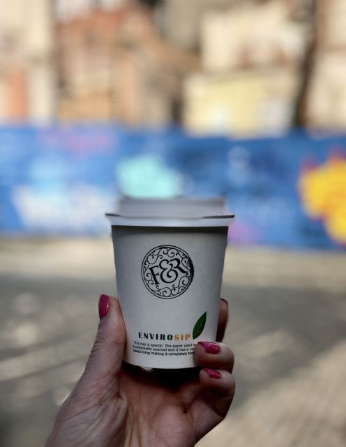 carry out coffee at Forsyth & Reed