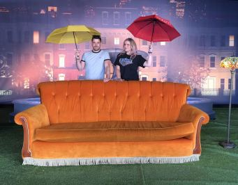 Comedy Central UK's Friends fest 2018: Pixie Tenenbaum & her brother recreate the title sequence to the hit TV series Friends