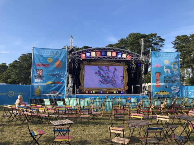 Comedy Central UK's Friends Fest 2018: the pop up cinema showing iconic moments from the TV show Friends