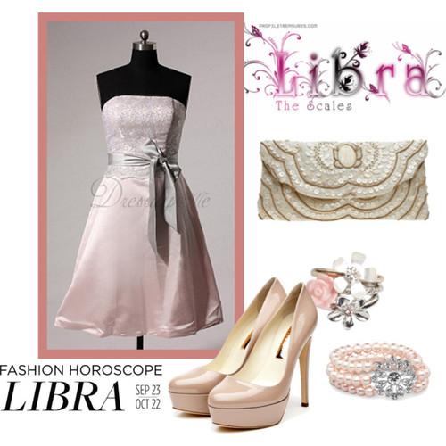 Zodiac Style Feminine and Romantic Prom Dresses for Libra