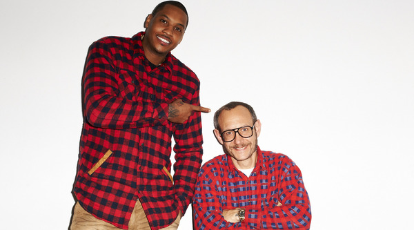 terry richardson hangs with