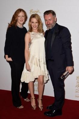 Roksanda Ilincic, Kylie Minogue, Justin Thornton