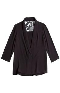 Black Eva Jacket Blouse