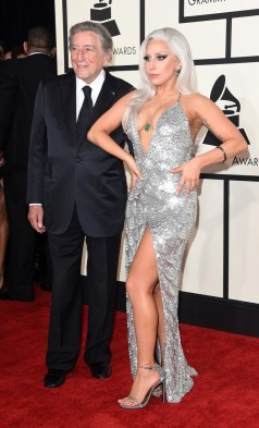 Tony Bennett and Lady Gaga in Brandon Maxwell
