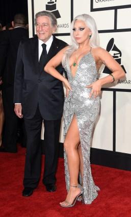 Tony Bennett and Lady Gaga in Brandon Maxwell