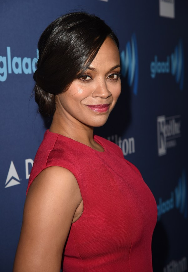 Zoe Saldana Joining In Dolce & Gabbana Boycott