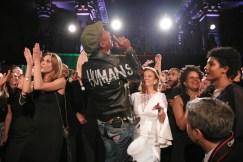 Pharrell & Crowd