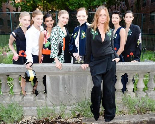 Stella McCartney and Models