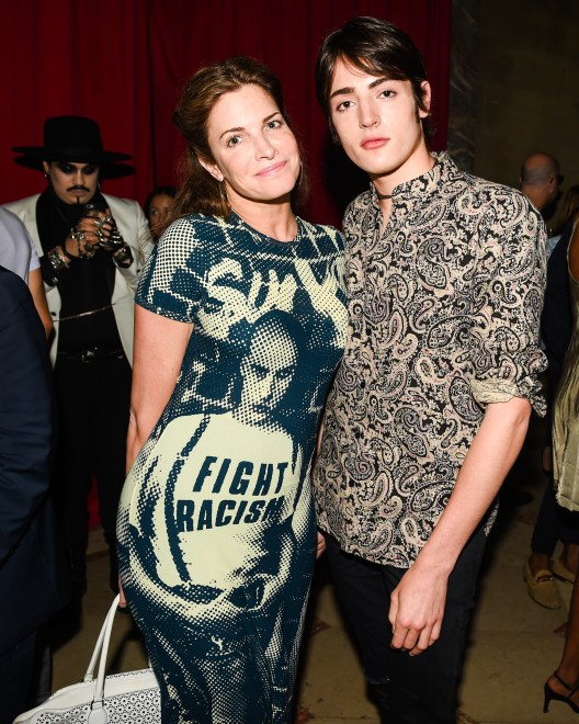 Stephanie Seymour, Harry Brant