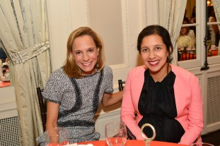 Anna G., Karla Martinez DeFalas== Women's Voices for Change Luncheon in honor of Christy Turlington Burns, 2015 Champion For Change== Private Manhattan Club, NYC== September 21, 2015== ©Patrick McMullan== Photo - Jared Siskin/patrickmcmullan.com==