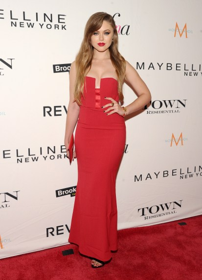 NEW YORK, NY - SEPTEMBER 10: Blogger Kristina Bazan of Kayture attends The Daily Front Row's Third Annual Fashion Media Awards at the Park Hyatt New York on September 10, 2015 in New York City. (Photo by Rommel Demano/Getty Images for The Daily Front Row)