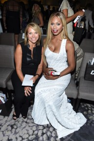 NEW YORK, NY - SEPTEMBER 10: Katie Couric (L) and Laverne Cox attend The Daily Front Row's Third Annual Fashion Media Awards at the Park Hyatt New York on September 10, 2015 in New York City. (Photo by Larry Busacca/Getty Images for The Daily Front Row)