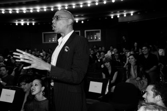 "RuPaul== Time Life and The Cinema Society host a screening of ""The Carol Burnett Show: The Lost EpisodesÓ== Tribeca Grand Hotel, NYC== September 17, 2015== ©Patrick McMullan== Photo - Paul Bruinooge/PatrickMcMullan.com== =="
