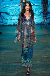 Anna Sui New York RTW Spring Summer 2016 September 2015