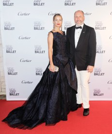 Carolyn Murphy, Peter Copping== New York City Ballet 2015 Fall Fashion Gala== Lincoln Center, NYC== September 30, 2015== ©Patrick McMullan== Photo - Nicholas Hunt / PatrickMcMullan.com== ==