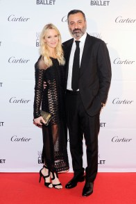 Zanna Rassi (wearing Jonathan Simkhai), Mazdack Rassi==New York City Ballet 2015 Fall Fashion Gala==Lincoln Center, NYC==September 30, 2015==©Patrick McMullan==Photo - Nicholas Hunt / PatrickMcMullan.com====