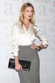 wearing Max Mara, Lauren Remington Platt
