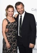 LOS ANGELES, CA - OCTOBER 19: Actress Leslie Mann and director/producer Judd Apatow attend the 22nd Annual ELLE Women in Hollywood Awards at Four Seasons Hotel Los Angeles at Beverly Hills on October 19, 2015 in Los Angeles, California. (Photo by Jason Merritt/Getty Images)