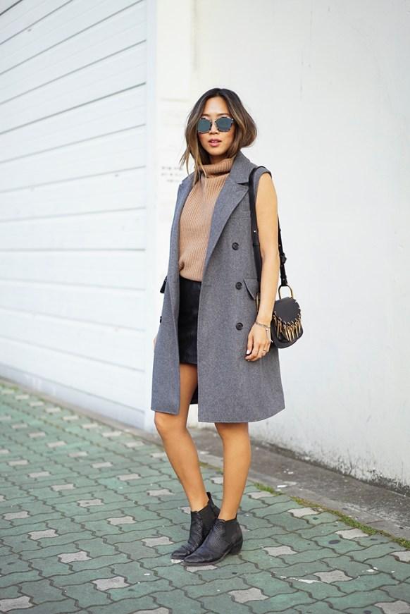 aimee_song_of_stye_gray_sleeveless_coat_vince_turtleneck_sweater_dior_sunglasses