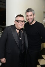 Alber Elbaz and Brandon Maxwell