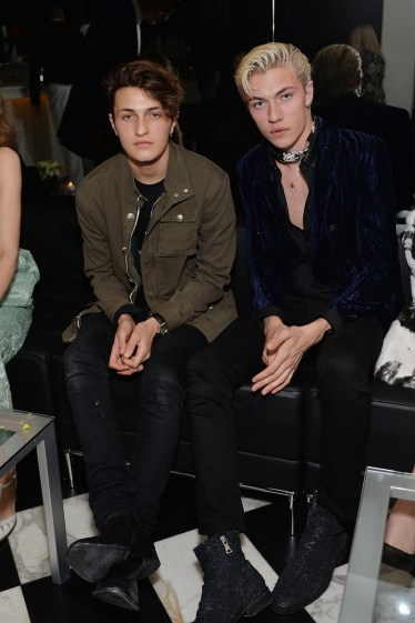 Anwar Hadid and Lucky Blue Smith