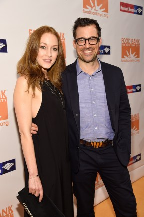 """""""NEW YORK, NY - APRIL 20: Jennifer Ferrin and Zachary Bliss attend Food Bank Of New York City's Can Do Awards 2016 hosted by Michael Strahan and Mario Batali on April 20, 2016 in New York City. (Photo by Kevin Mazur/Getty Images for Food Bank of New York City)"""""""