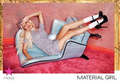 Madonna's Material Girl Unveils First Pia Mia Ad Campaign