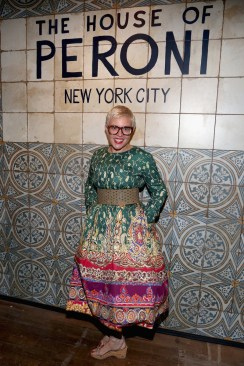 NEW YORK, NY - SEPTEMBER 07: Catherine Martin attends The House of Peroni Opening Night hosted by Francesco Carrozzini on September 7, 2016 in New York City. (Photo by Sylvain Gaboury/Patrick McMullan via Getty Images)