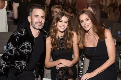 NEW YORK, NY - SEPTEMBER 08: (EXCLUSIVE ACCESS, SPECIAL RATES APPLY) Designer Marc Jacobs, Kaia Gerber, and Cindy Crawford attend the The Daily Front Row's 4th Annual Fashion Media Awards at Park Hyatt New York on September 8, 2016 in New York City. (Photo by Nicholas Hunt/Getty Images)