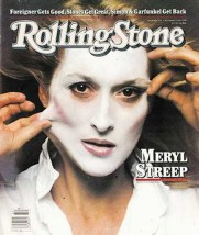 Meryl Streep on the October 15, 1981, cover of Rolling Stone