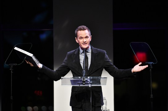 NEW YORK, NY - OCTOBER 17: Actor Neil Patrick Harris hosts the God's Love We Deliver Golden Heart Awards on October 17, 2016 in New York City. (Photo by Dimitrios Kambouris/Getty Images for Michael Kors)