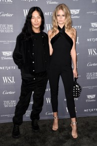 NEW YORK, NY - NOVEMBER 02: Designer Alexander Wang (L) and Model Anna Ewers attend the WSJ Magazine 2016 Innovator Awards at Museum of Modern Art on November 2, 2016 in New York City. (Photo by Nicholas Hunt/Getty Images for WSJ. Magazine Innovators Awards)