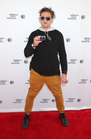 NEW YORK, NY - APRIL 23: Casey Neistat attends the Tribeca Talks: Snap It, Vine It, Tube It Panal during the 2015 Tribeca Film Festival at SVA Theater on April 23, 2015 in New York City. (Photo by Jemal Countess/Getty Images for the 2015 Tribeca Film Festival)